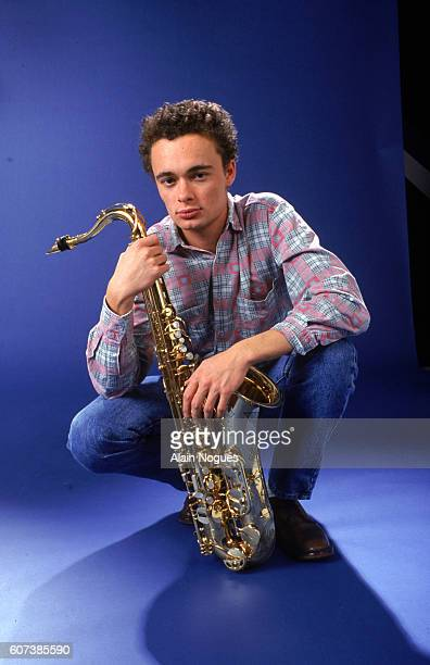 Blues Trottoir saxophonist Oliver Defays He is also the son of French actor Pierre Richard