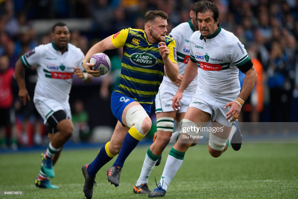 Cardiff Blues v Pau - European Challenge Cup Semi-Final : News Photo