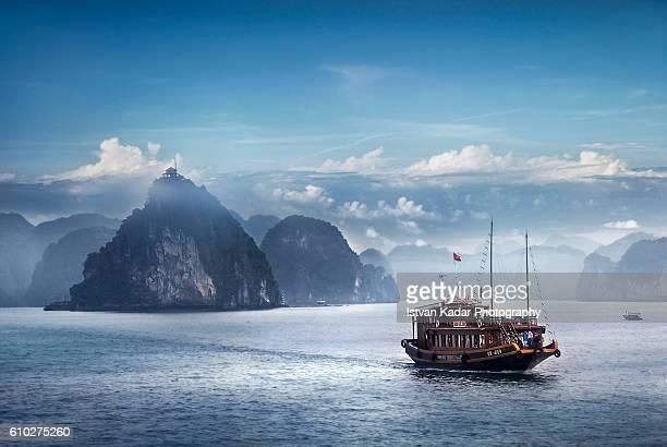 Blue-scape - Ha Long Bay, Vietnam