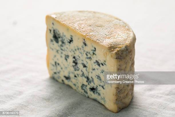 Blue-veined cheese from France