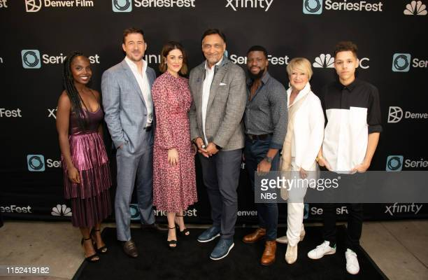Bluff City Law World Premiere at SeriesFest Season 5 at the SIE FilmCenter on June 22 2019 in Denver Colorado Pictured MaameYaa Boafo Barry Sloane...