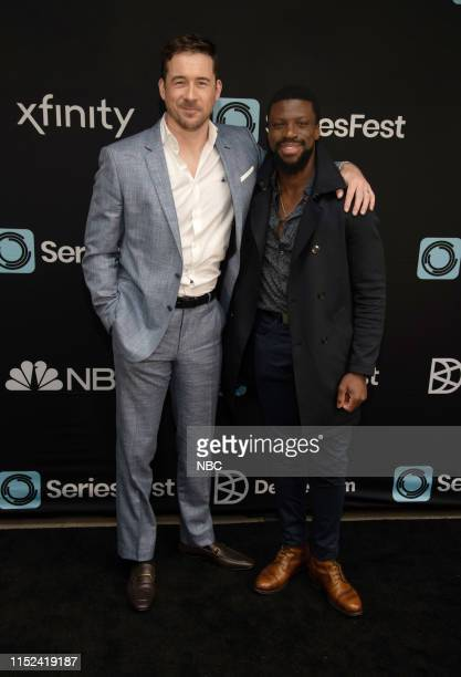 Bluff City Law World Premiere at SeriesFest Season 5 at the SIE FilmCenter on June 22 2019 in Denver Colorado Pictured Barry Sloane Michael Luwoye