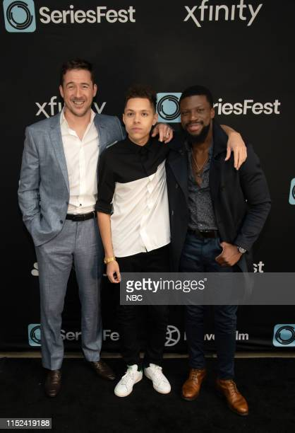 Bluff City Law World Premiere at SeriesFest Season 5 at the SIE FilmCenter on June 22 2019 in Denver Colorado Pictured Barry Sloane Stony Blyden...