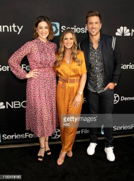 Bluff City Law World Premiere at SeriesFest Season 5 at the SIE FilmCenter on June 22 2019 in Denver Colorado Pictured Caitlin McGee Jordan Rodgers...