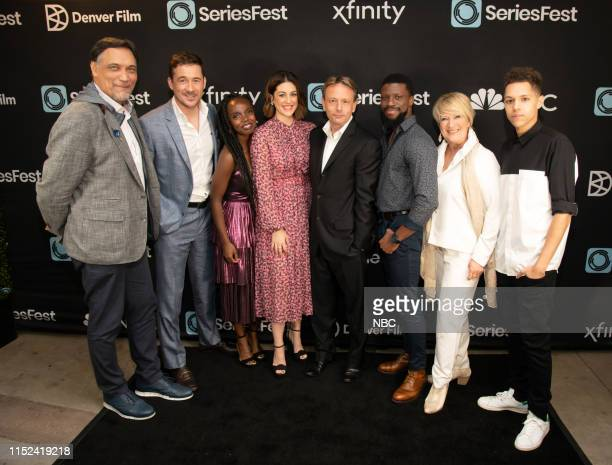 Bluff City Law World Premiere at SeriesFest Season 5 at the SIE FilmCenter on June 22 2019 in Denver Colorado Pictured Jimmy Smits Barry Sloane...