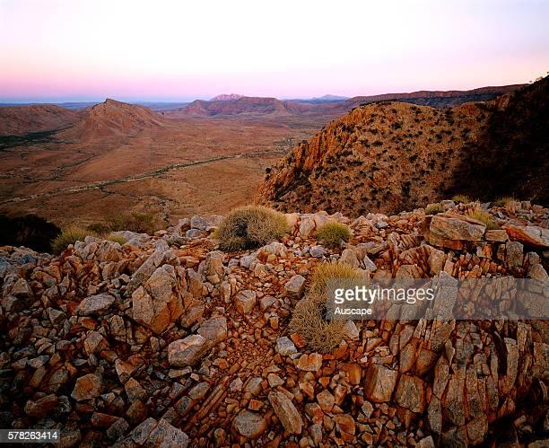 Bluff country around Balgo Community Balwina Aboriginal Land Edge of the Great Sandy Desert Southeast Kimberley region Western Australia Australia