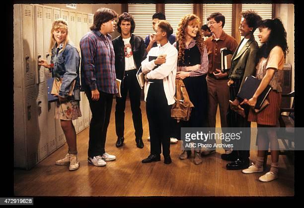CLASS 'Blunden in Love' Airdate October 25 1989 KRISTINE BLACKBURNDAN SCHNEIDERBRIAN ROBBINSMICHAEL DELORENZOROBIN GIVENSKHRYSTYNE HAJEDAN FRISCHMANDE
