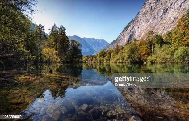 Bluntausee coastline, Austria