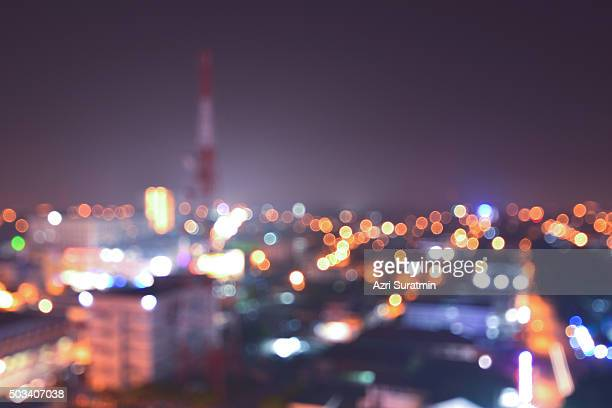 blur city - red light district stock pictures, royalty-free photos & images