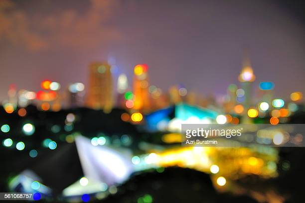 Blur image of National Mosque Malaysia