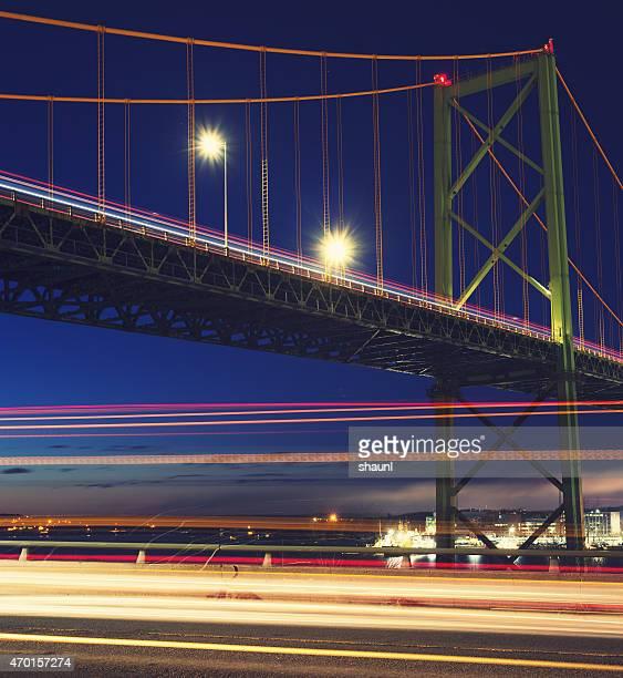 Dessus du pont de signalisation