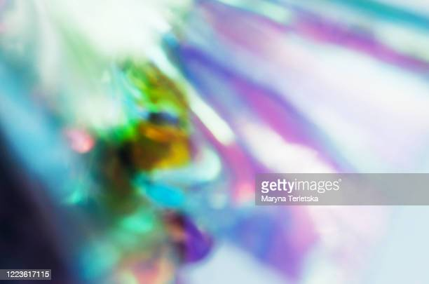 blurred abstract trend neon background. - 玉虫色 ストックフォトと画像
