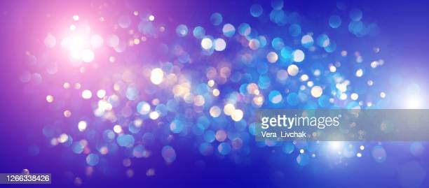 blurred bokeh light background, christmas and new year holidays background - silver coloured stock pictures, royalty-free photos & images