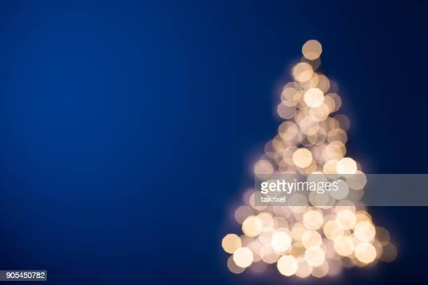 Blurred Christmas tree, Germany