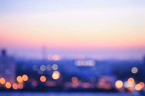 Blurred city sunrise background 1044498000