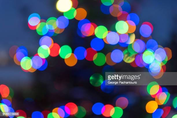 Blurred colorful lights - add your logo or text