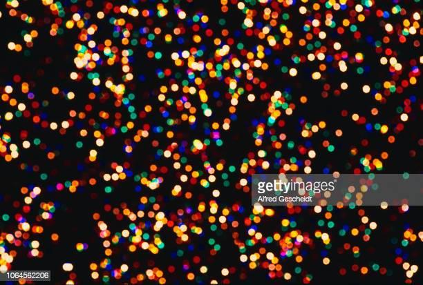 Blurred fairy lights 1978