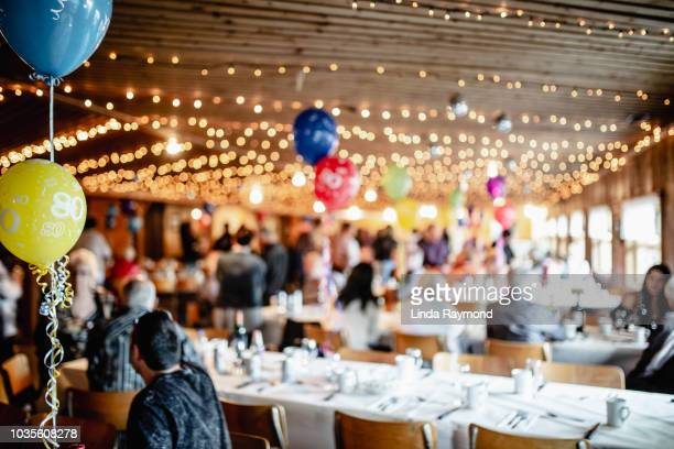 blurred festive party - banquet hall stock pictures, royalty-free photos & images
