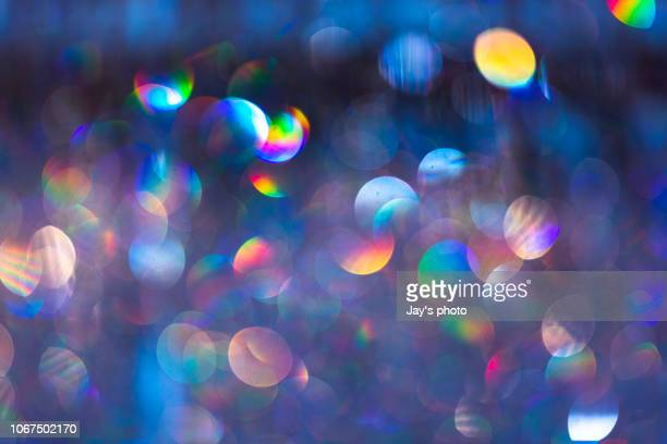 blurred focus of cityscape - verlicht stockfoto's en -beelden