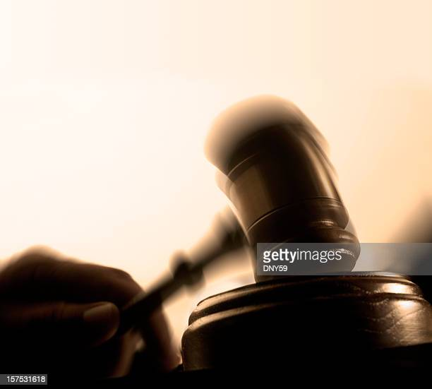 Blurred Gavel