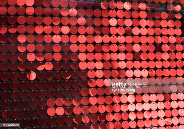 blurred red metal discs - lyn holly coorg stock pictures, royalty-free photos & images