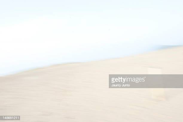 Blurred Tottori desert