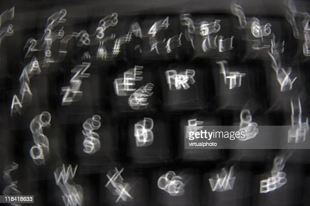 blurring keyboard