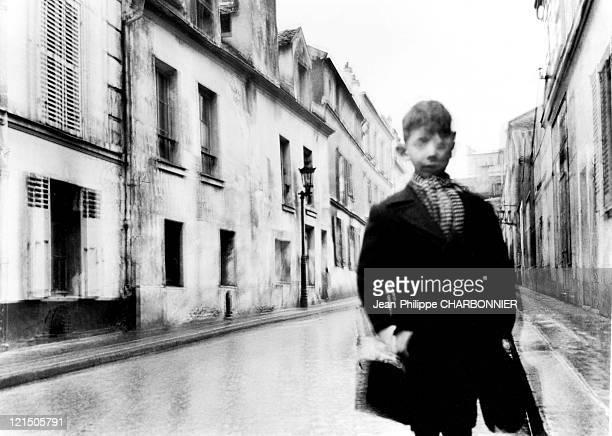 Blurry Child Paris 20Th District In 1947