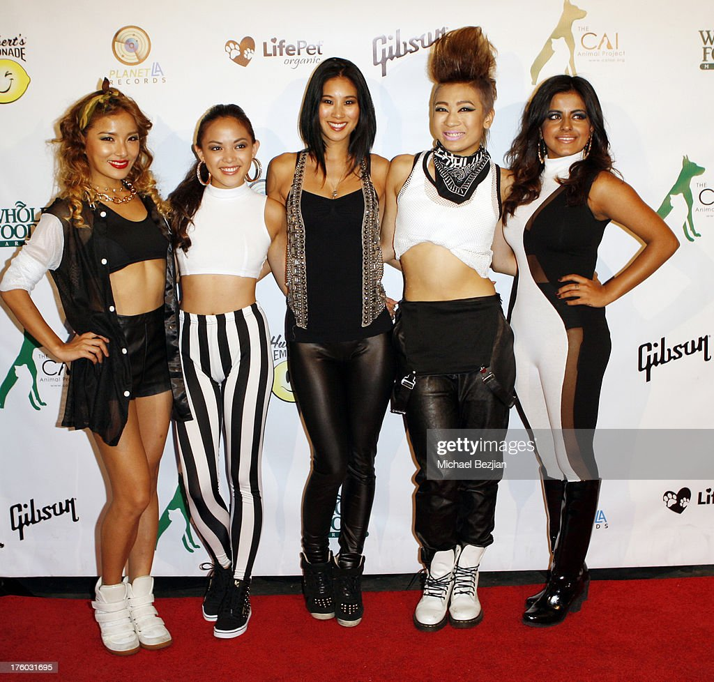 Blush attend Showcase Benefiting The Carrie Ann Inaba Animal Project at Gibson Guitar Entertainment Relations Showroom on August 10, 2013 in Beverly Hills, California.