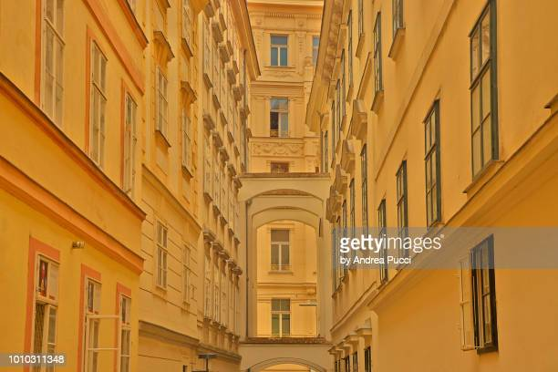 blutgasse, innere stadt, vienna, austria - stadt stock pictures, royalty-free photos & images