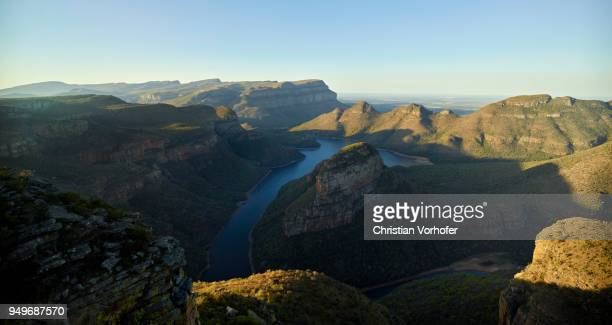 Blyde River Canyon and reservoir Blyderivierspoort Dam, Mpumalanga, South Africa