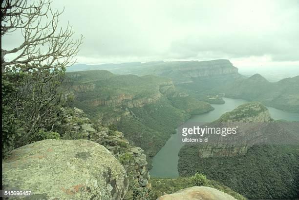 Blyde River Canyon in den Drakensbergen,Ost - Transvaal- 1990