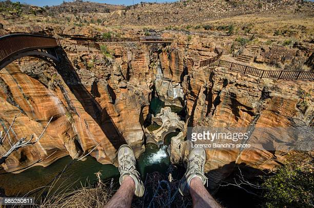 Blyde River Canyon, point of view shot