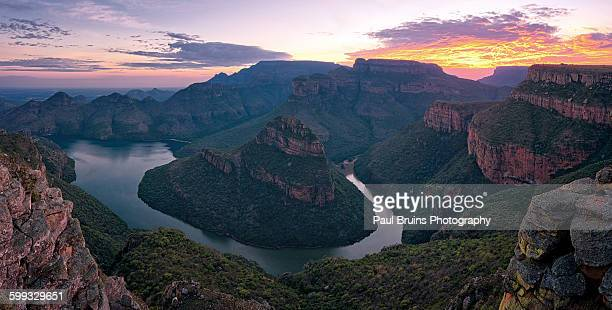 Blyde River Canyon Sunrise Panorama