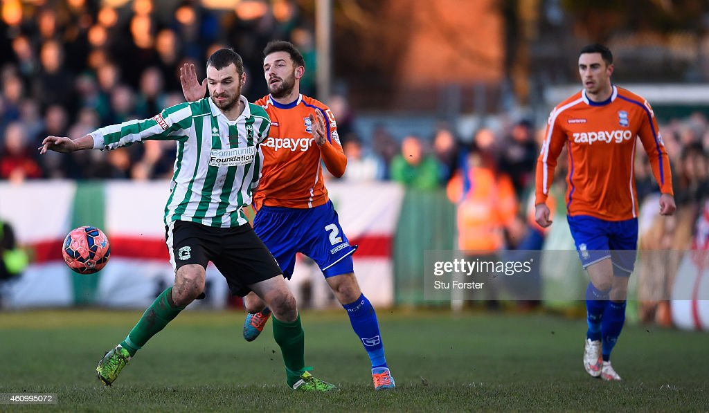 Blyth Spartans AFC v Birmingham City - FA Cup Third Round : News Photo
