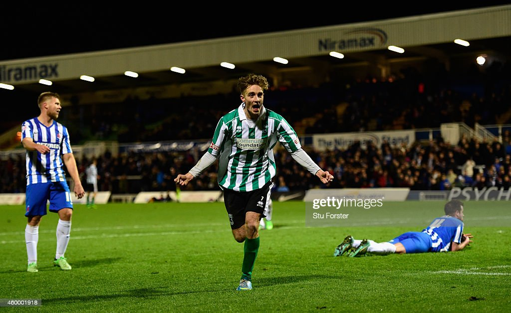 Hartlepool United v Blyth Spartans - FA Cup Second Round : News Photo