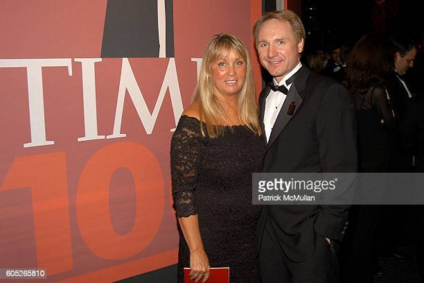 Blythe Brown and Dan Brown attend TIME Magazine's 100 Most Influential People 2006 at Jazz at Lincoln Center at Time Warner Center on May 8 2006 in...