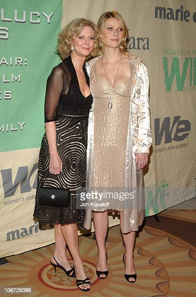 Blythe Danner and Gwyneth Paltrow during 2004 Crystal Lucy Awards Women in Film Celebrates the Paltrow Family Arrivals at The Westin Century Plaza...