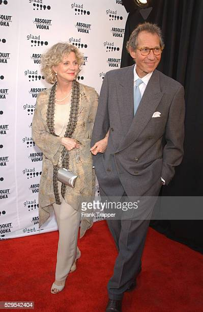 Blythe Danner and husband Bruce Paltrow arrive at the 13th annual GLADD Media Awards held at the Kodak Theatre While vacationing in Rome Paltrow...