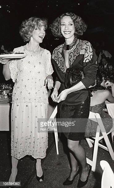 Blythe Danner and Marisa Berenson during 4th Annual New York Caberet Benefit for the Williamstown Theater Festival at Studio 54 in New York City New...