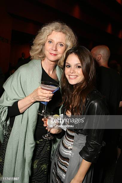 """Blythe Danner and Rachel Bilson during Los Angeles Premiere of DreamWorks """"The Last Kiss"""" at Director's Guild of America in Los Angeles, CA, United..."""