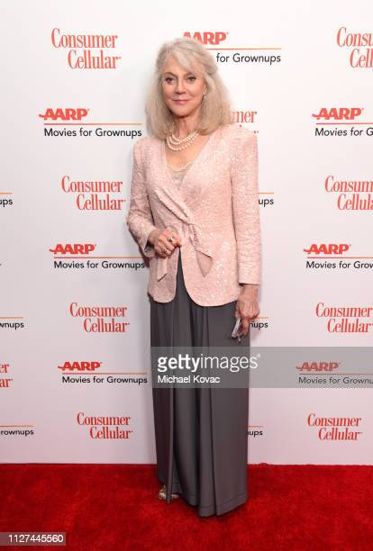 Blythe Danner attends AARP The Magazine's 18th Annual Movies for Grownups Awards at the Beverly Wilshire Four Seasons Hotel on February 04 2019 in...