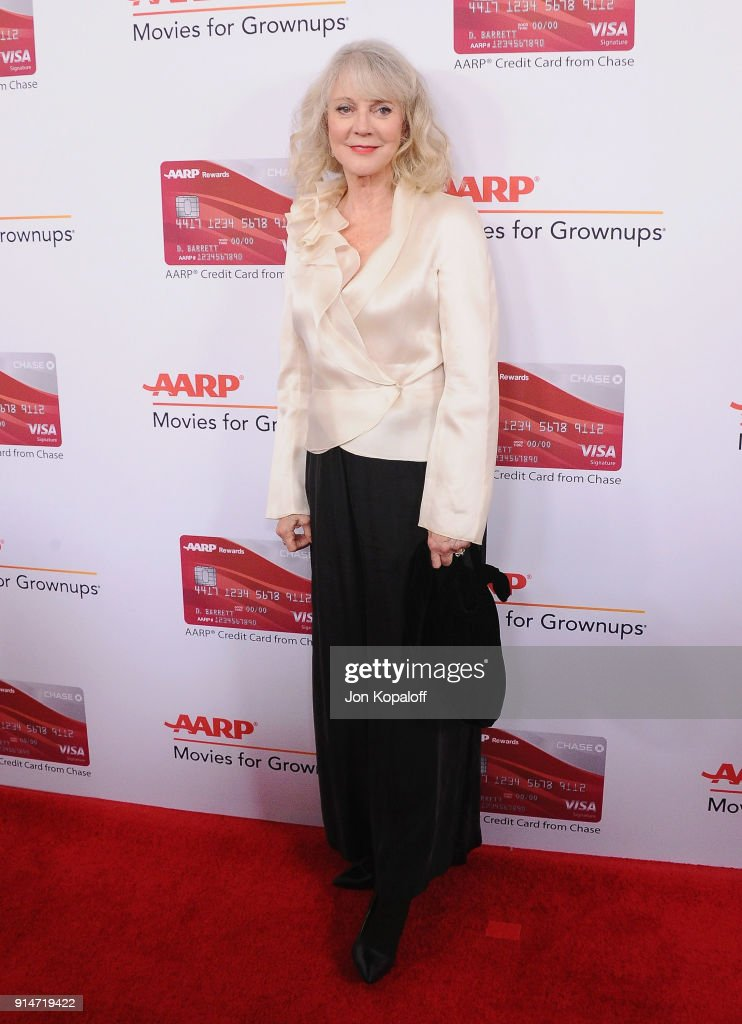 Blythe Danner attends AARP's 17th Annual Movies For Grownups Awards at the Beverly Wilshire Four Seasons Hotel on February 5, 2018 in Beverly Hills, California.