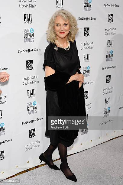 Blythe Danner attends the 25th annual Gotham Independent Film Awards at Cipriani Wall Street on November 30 2015 in New York City
