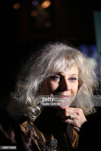 Blythe Danner attends the Broadway Opening Night Performance After Party for 'The Country House' at the Hard Rock Cafe on October 2 2014 in New York...