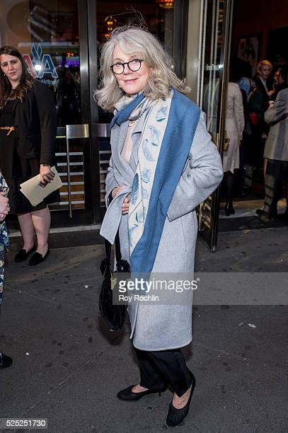 Blythe Danner attends the Long Day's Journey Into Night Broadway opening night at American Airlines Theatre on April 27 2016 in New York City