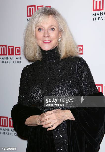 Blythe Danner attends the 'The Commons Of Pensacola' opening night after party at Brasserie 8 1/2 on November 21 2013 in New York City