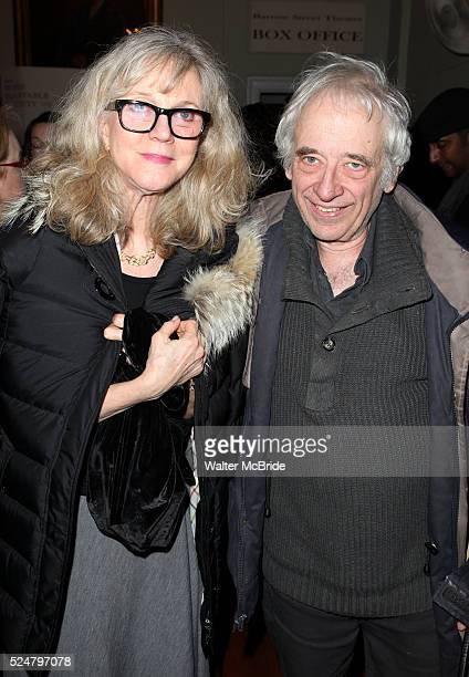 Blythe Danner Austin Pendleton attending the New York Premiere of the Opening Night Performance of 'Hit The Wall' at the Barrow Street Theatre in New...