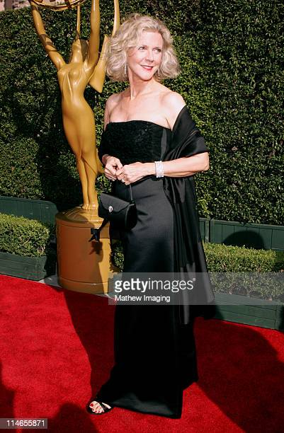 Blythe Danner during 57th Annual Primetime Creative Arts EMMY Awards Arrivals Red Carpet at Shrine Auditorium in Los Angeles California United States