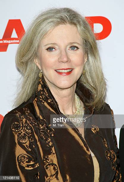 Blythe Danner during AARP The Magazine Toasts 2007 Movies For Grownups Awards Winners at Hotel BelAir in Los Angeles California United States